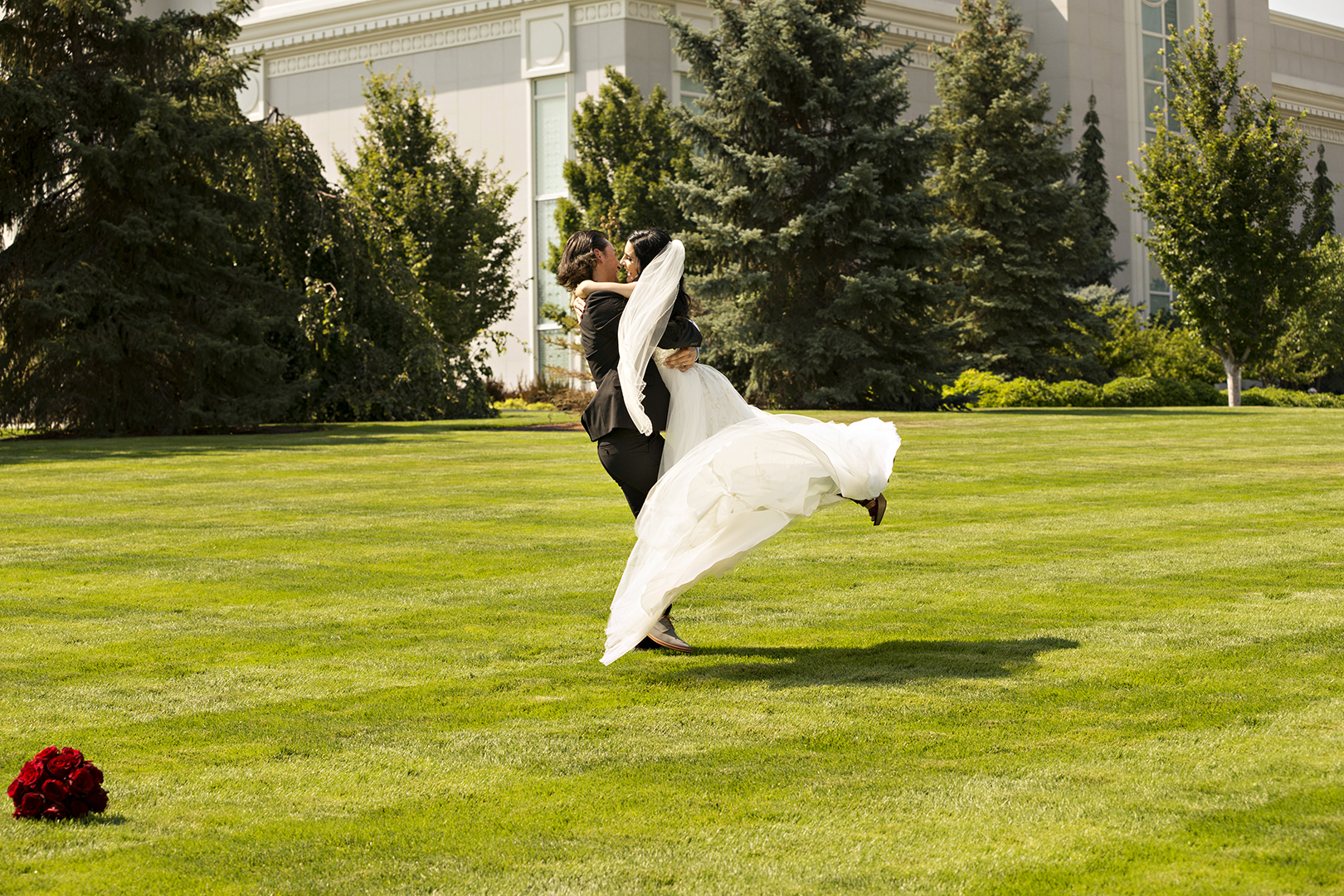Wedding Mount Timpanogos Temple Spin