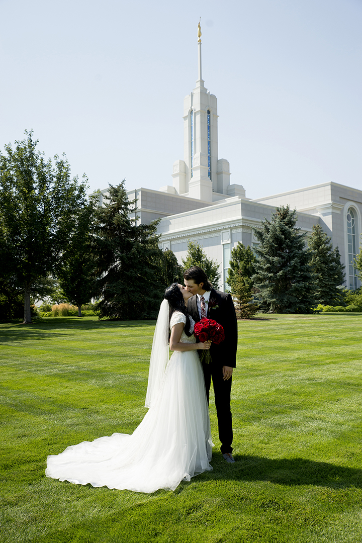 Wedding Mount Timpanogos Temple Traditional