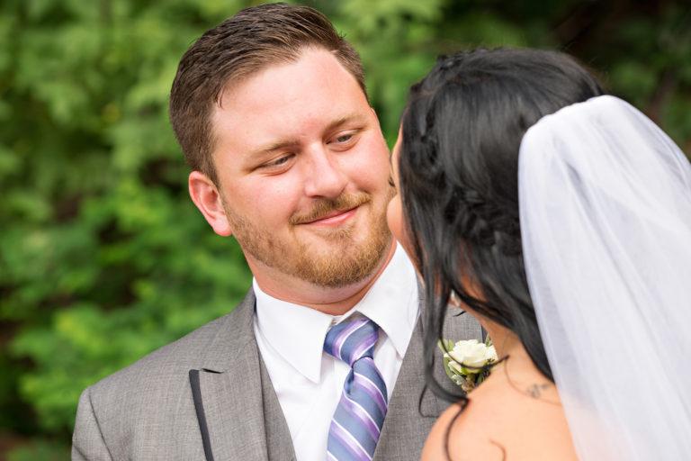Wedding Photography at Louland Falls Groom